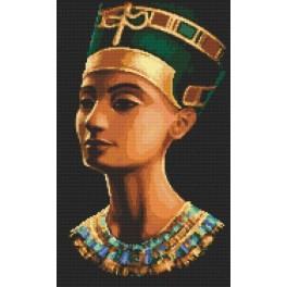 Nofretete - Aida mit Aufdruck