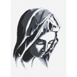 Pieta - Aida mit Aufdruck