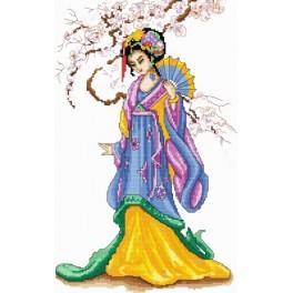 Die Geisha - Aida mit Aufdruck