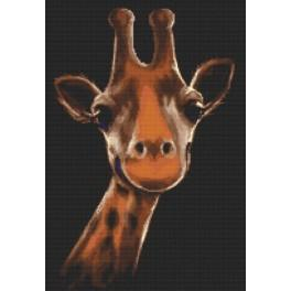 Giraffe - Aida mit Aufdruck