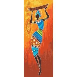 Energie aus Afrika - Aida mit Aufdruck