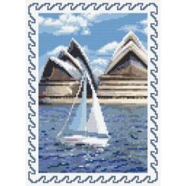 Erinnerungen an die Sommerferien - Australien - Aida mit Aufdruck
