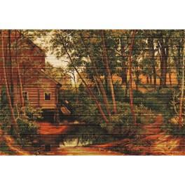 Stickpackung - Landschaft, Reproduktion von Szyszkin