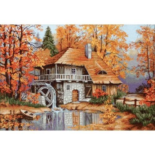 LS B481 Stickpackung - Herbstlandschaft