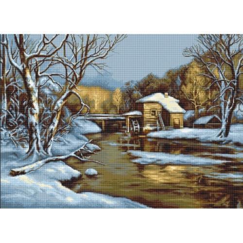 Stickpackung - Wintertag