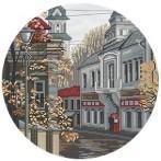 Zestaw z muliną - Silent street