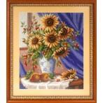 Stickpackung - Sonniger Blumenstrauß
