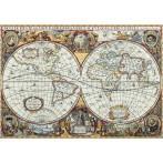 Stickpackung - Weltkarte