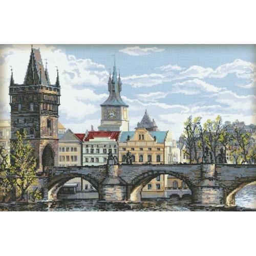 Stickpackung - Die Karlsbrücke-Prag