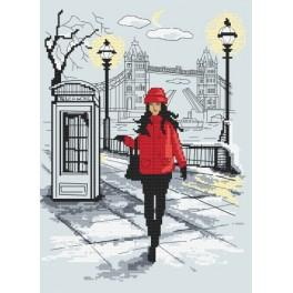 Stickpackung - Londoner Chic