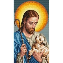 Zestaw z muliną - Jezus z barankiem