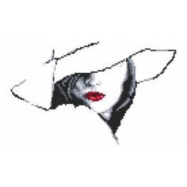 Zestaw z muliną - Kobieta w kapeluszu II