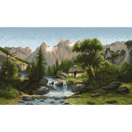 Zestaw z muliną - W dolinie