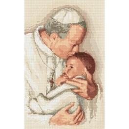 Zestaw z muliną - Papież Jan Paweł II