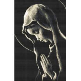 Stickpackung- Gebet