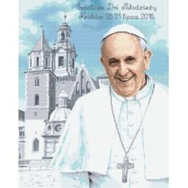 Stickpackung - Pope Francis in Krakow