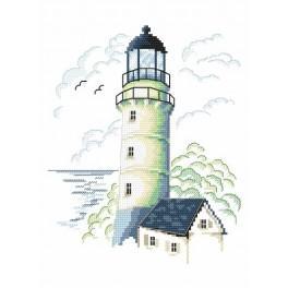 Stickpackung - Leuchtturm