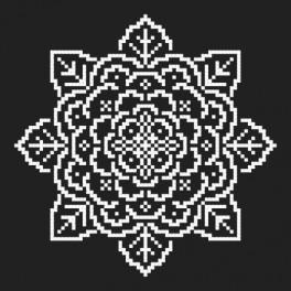 Stickpackung - Gestickte Spitzen III