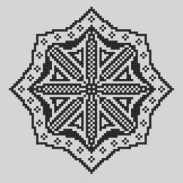 Stickpackung - Gestickte Spitzen VI