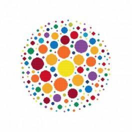 Stickpackung - Farbenspiel