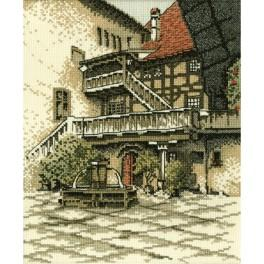 Stickpackung - Alte Stadt