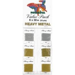 MADEIRA Metallic - Value Pack 6 x 30m