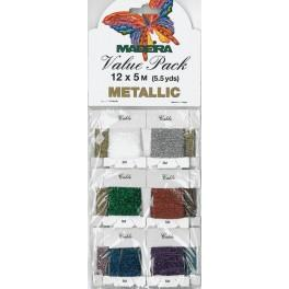 MADEIRA Metallic - Value Pack 12 x 5m
