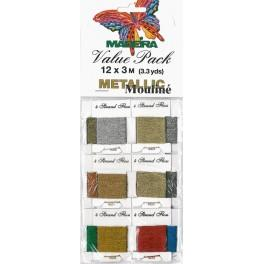 MADEIRA Metallic - Value Pack 12 x 3m