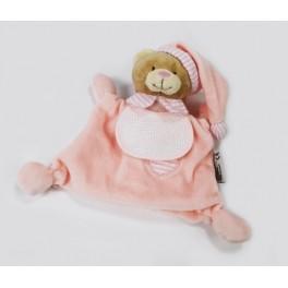 Przytulak - miś w piżamce różowy
