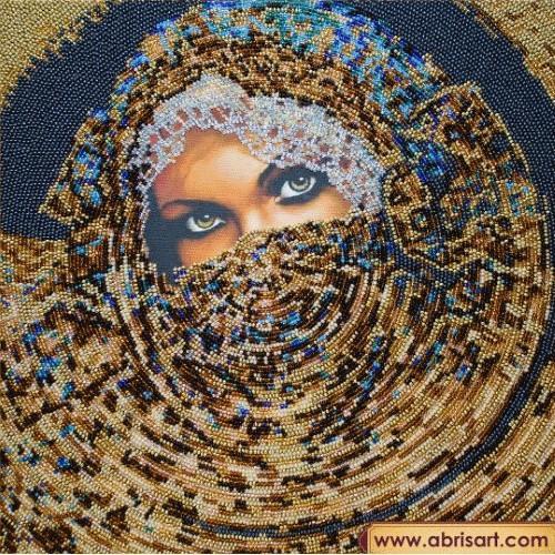 Stickpackungen mit Perlen - Schahrasad