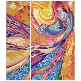 Zestaw z koralikami - Autumn waltz