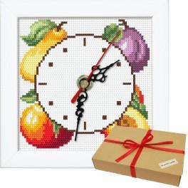 Zestaw prezentowy - Zegar z owocami