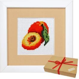 Zestaw prezentowy - Owoce - Brzoskwinie