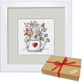 Zestaw prezentowy - Kwiaty z ogródka – Konewka