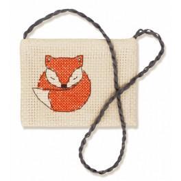 Stickpackung - Kleintasche - Kleinfuchs
