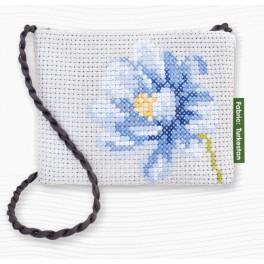 Torebka - Niebieski kwiat