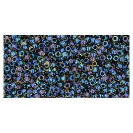 Koraliki TOHO Inside-Color (tęczowe) 15