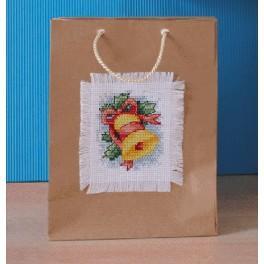 Stickpackung - Dekorative Tüten - Glocke