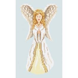 Stickpackung - Das Engelchen mit goldblondem Haar