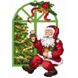 Stickpackung - Nikolaus zum Aufhängen