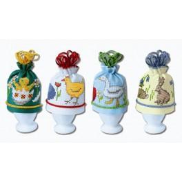 Stickpackung - Wärmeschutz für Eier