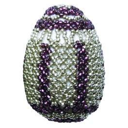 Stickpackungen mit Perlen