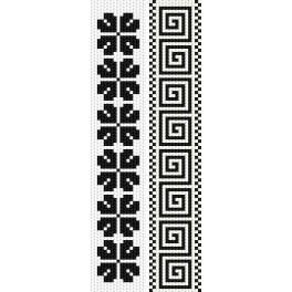 Stickpackung - Lesezeichen - Einfarbige Motive