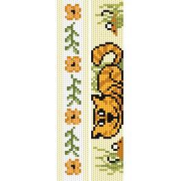 Stickpackung - Lesezeichen - Gelbe Scherze