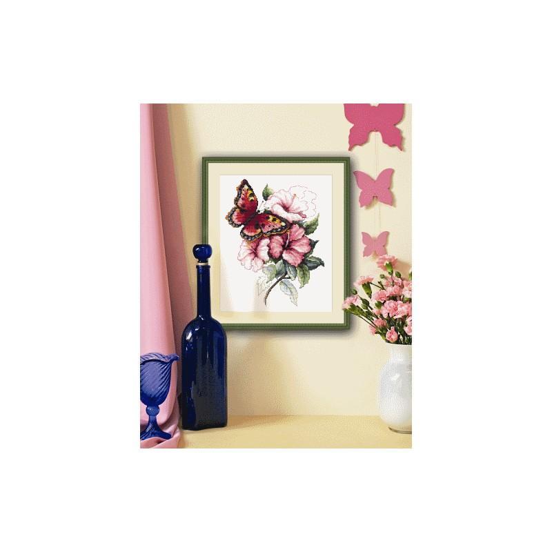 Grannys Craft Room Kreuzstich-Set mit Z/ählmuster 82 x 64 cm 400 x 300 /ägyptische Baumwolle