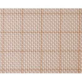 AC 8912-02 Karierter Aida-Stoff - 54/10cm (14 ct) ecru