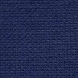 AIDA 54/10cm (14 ct) - Bogen 15x20 cm dunkelblau