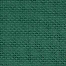 AIDA 64/10cm (16 ct) - Bogen 15x20 cm grün