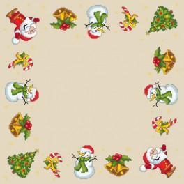 ZU 8344 Stickpackung - Weihnachtsserviette