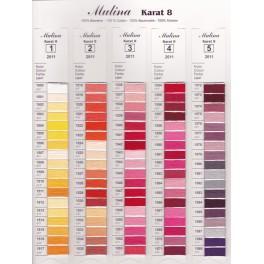 Stickgarn ARIADNA - Wählen Sie die Stickgarnfarbe